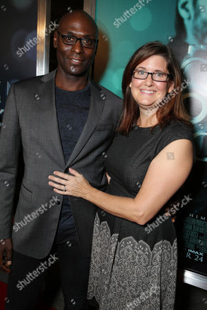 """Lance Reddick and Stephanie Reddick seen at Summit Entertainment's """"John Wick"""" Los Angeles Special Screening held at The Arclight Hollywood, in Hollywood"""