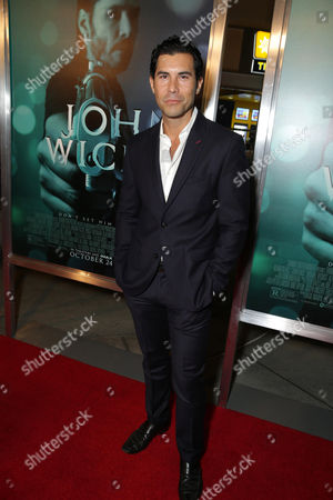 "David DeSantos seen at Summit Entertainment's ""John Wick"" Los Angeles Special Screening held at The Arclight Hollywood, in Hollywood"
