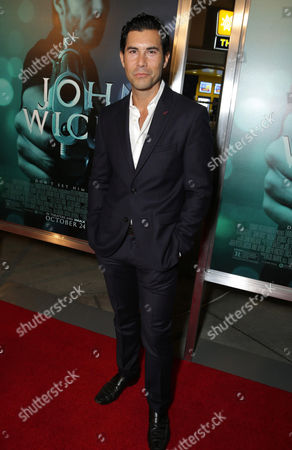 "Stock Image of David DeSantos seen at Summit Entertainment's ""John Wick"" Los Angeles Special Screening held at The Arclight Hollywood, in Hollywood"
