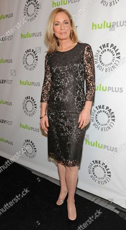 Photo of Susanna Thompson courtesy of Samsung Galaxy, taken during the Paley Center for Media's PaleyFest, honoring Arrow at the Saban Theatre, in Los Angeles, California