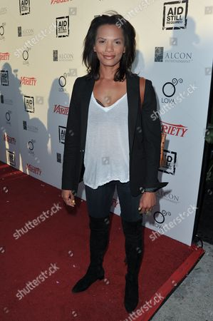 Amber Dixon Brenner attends The Big Easy Juke Joint Party at Bugatta Restaurant, in Los Angeles
