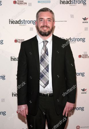 Stock Photo of Filmmaker Garret Anderson attends The Headstrong Project Words Of War event on in New York