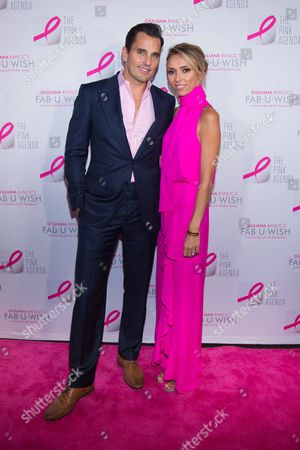 Bill Rancic, left, and Giuliana Rancic attend The Pink Agenda's annual benefit gala at Three Sixty, in New York