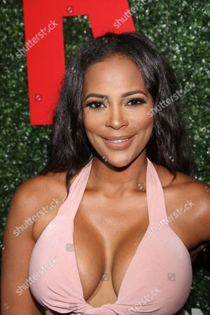 """Sundy Carter seen at The Shade Room's """"Shades of Eden"""" 1st Anniversary Celebration at a private mansion on Saturday, June 4th, 2016, in Los Angeles, California"""