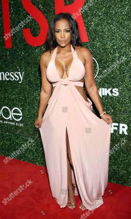 """Stock Image of Sundy Carter seen at The Shade Room's """"Shades of Eden"""" 1st Anniversary Celebration at a private mansion on Saturday, June 4th, 2016, in Los Angeles, California"""