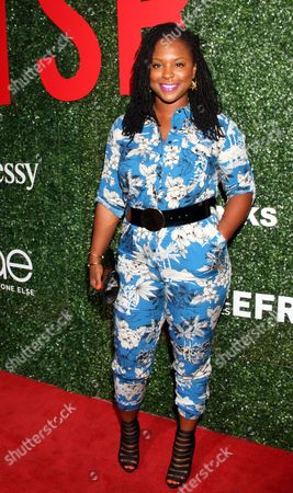 """Torrei Hart seen at The Shade Room's """"Shades of Eden"""" 1st Anniversary Celebration at a private mansion on Saturday, June 4th, 2016, in Los Angeles, California"""