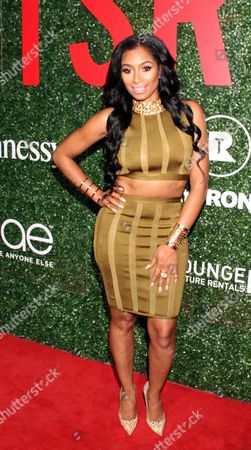 "Karlie Redd seen at The Shade Room's ""Shades of Eden"" 1st Anniversary Celebration at a private mansion on Saturday, June 4th, 2016, in Los Angeles, California"