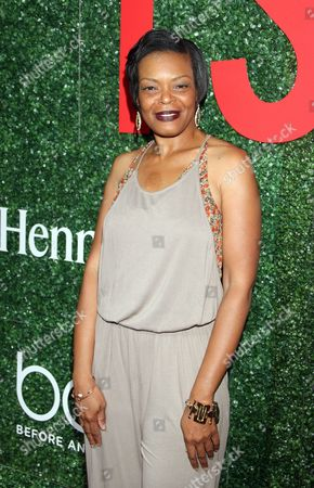 """Actress Lisa Renee Pitts seen at The Shade Room's """"Shades of Eden"""" 1st Anniversary Celebration at a private mansion on Saturday, June 4th, 2016, in Los Angeles, California"""
