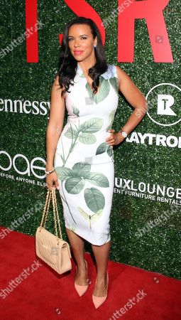 """Stock Picture of Chef Shamicka Lawrence seen at The Shade Room's """"Shades of Eden"""" 1st Anniversary Celebration at a private mansion on Saturday, June 4th, 2016, in Los Angeles, California"""