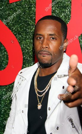 """Recording artist Safaree Samuels seen at The Shade Room's """"Shades of Eden"""" 1st Anniversary Celebration at a private mansion on Saturday, June 4th, 2016, in Los Angeles, California"""