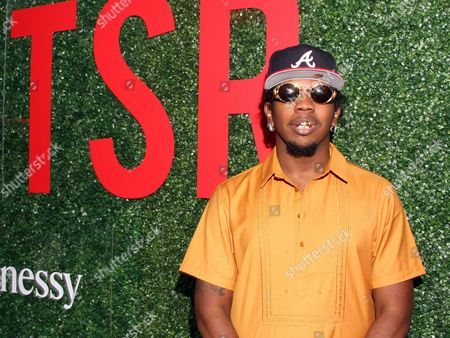 "Rapper Trinidad James seen at The Shade Room's ""Shades of Eden"" 1st Anniversary Celebration at a private mansion on Saturday, June 4th, 2016, in Los Angeles, California"