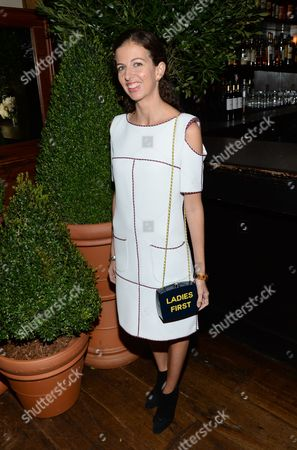 Stock Image of Chiara Clemente attends Through Her Lens: The Tribeca Chanel Women's Filmmaker Program Inaugural Luncheon at Locanda Verde, in New York