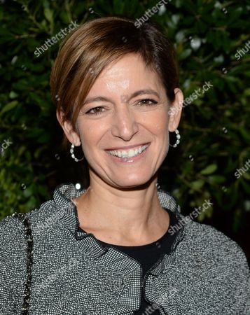 Glamour magazine editor-in-chief Cynthia Leive attends Through Her Lens: The Tribeca Chanel Women's Filmmaker Program Inaugural Luncheon at Locanda Verde, in New York