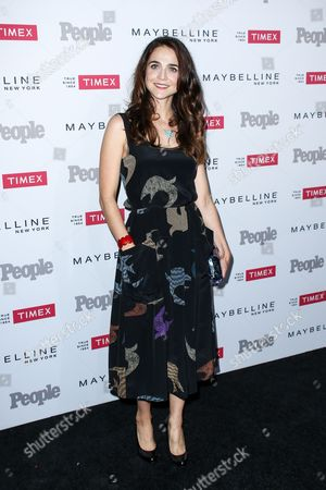 """Maya Kazan attends the Third Annual People Magazine """"Ones To Watch"""" Party held at Ysabel, in West Hollywood, Calif"""