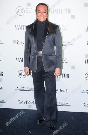 Nick Chavez attends the Vanity Fair and Chrysler Celebrate Richard Linklater and the cast of Boyhood, in West Hollywood, CA