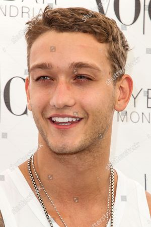 Cody Saintgnue attends the VO CO Summer Closing Pool Party at Skybar at the Mondrian Hotel on in Los Angeles