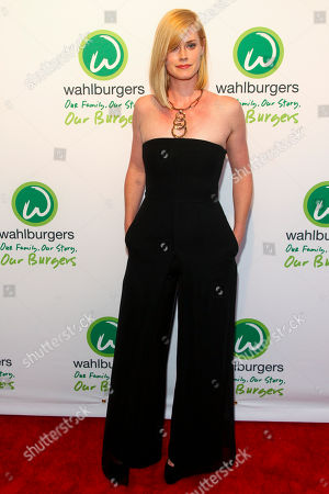 Abigail Hawk attends the Wahlburgers Coney Island preview party, in New York