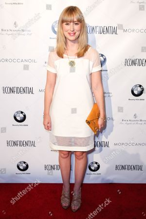 Stephanie Drake arrives at Los Angeles Confidential magazine celebrating their Women Of Influence issue at the Four Seasons Hotel, in Los Angeles