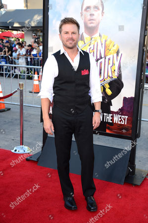 Aaron McPherson arrives at the World Premiere of 'A Million Ways To Die In The West', in Westwood, Calif
