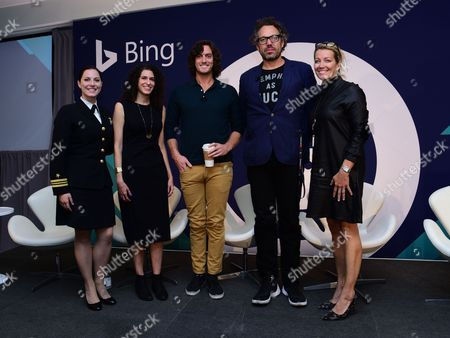 Editorial image of Out of the Office: Insights Through Cultural Immersion seminar, Advertising Week New York 2017, Bing Stage, Microsoft Technology Center, New York, USA - 27 Sep 2017