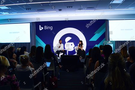Editorial picture of From Creative Culture to Makeup, Meet the Brand Behind Milk seminar, Advertising Week New York 2017, Bing Stage, Microsoft Technology Center, New York, USA - 27 Sep 2017