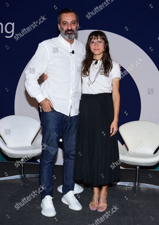 Mazdack Rassi (Co-Founder, Milk and Milk Makeup) and Georgie Greville (Co-founder and Creative Director, Milk Makeup)