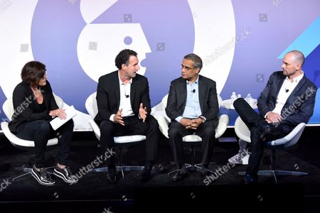 Megan Clarken (President, Watch, Nielsen), Rob Master (VP, Global Media, Categories and Partnerships, Unilever), Rishad Tobaccowala (Chief Growth Officer, Publicis Groupe), Joe Marchese (President of Advertising Revenue, Fox Networks Group)