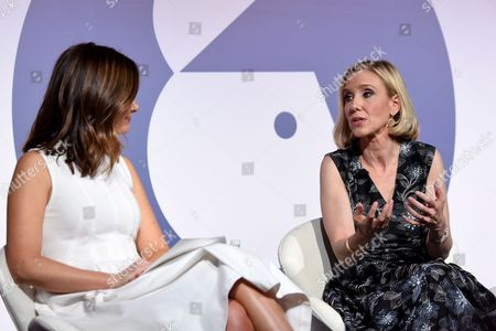 Rebecca Jarvis (Chief Business, Technology and Economics Correspondent at ABC News and Creator 'No Limits with Rebecca Jarvis' Podcast), Marne Levine (COO, Instagram)