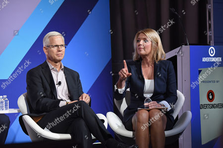 Editorial photo of Digital Out-of-Home and Programmatic: Current Practices, Future Growth seminar, Advertising Week New York 2017, Target Media Network Stage, PlayStation Theater, New York, USA - 26 Sep 2017