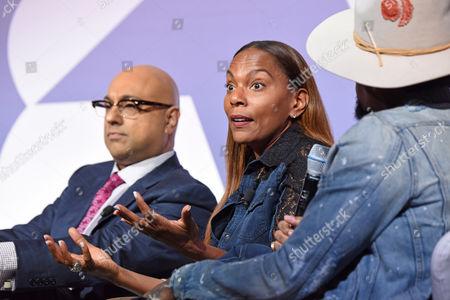 Ali Velshi (Correspondent, NBC News/MSNBC), Taneshia Nash Laird (Social Entrepreneur and Community Development Expert), D L Hughley