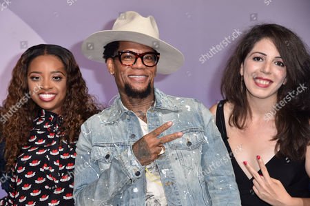 Tamika Mallory (Civil Rights Activist, Co-Founder, Women's March), D L Hughley, Mary Elizabeth Elkordy (Producer, The Hughley Truth)