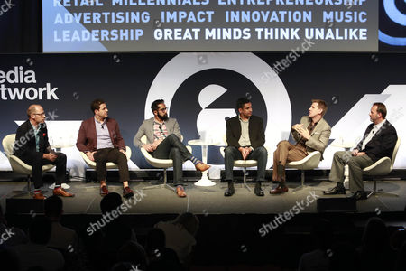 Editorial photo of If You Can Predict Your Customer's Future, What Will it Mean for Marketers seminar, Advertising Week New York 2017, Target Media Network Stage, PlayStation Theater, New York, USA - 27 Sep 2017