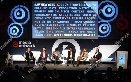 Editorial picture of If You Can Predict Your Customer's Future, What Will it Mean for Marketers seminar, Advertising Week New York 2017, Target Media Network Stage, PlayStation Theater, New York, USA - 27 Sep 2017