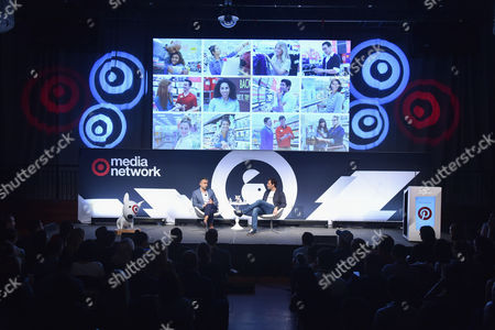 Editorial image of Redefining The Shopping Experience and Marketing Through Visual Technology seminar, Advertising Week New York 2017, Target Media Network Stage, PlayStation Theater, New York, USA - 27 Sep 2017