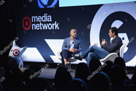 Rick Gomez (EVP and CMO, Target), Tim Kendall (President, Pinterest)