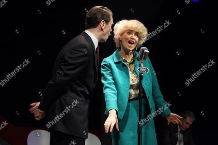 Robin Sebastian as Kenneth Williams and Emma Atkins as Joan Sims