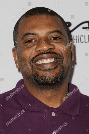 """Stock Picture of Gerald Johnson arrives at """"Keep It Clean"""" Live Comedy Benefit held at Avalon Hollywood, in Los Angeles"""