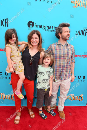 "Editorial image of ""THE BOXTROLLS"" LOS ANGELES PREMIERE Presented by LAIKA AND FOCUS FEATURES To Benefit the Imagination Foundation, Universal City, USA"