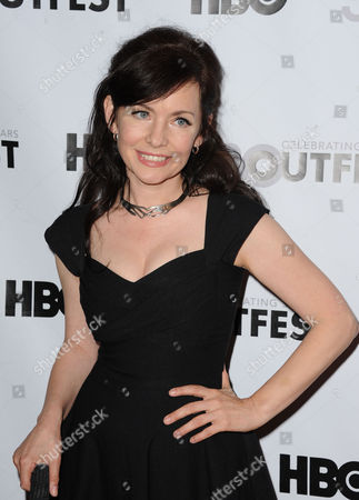 "Guinevere Turner arrives at the Outfest Opening Night Gala of ""Vito"" on in Los Angeles"