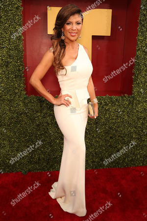 Stock Photo of Mirella Grisales arrives at the 2014 Billboard Latin Music Awards on at the BankUnited Center in Coral Gables, Fla