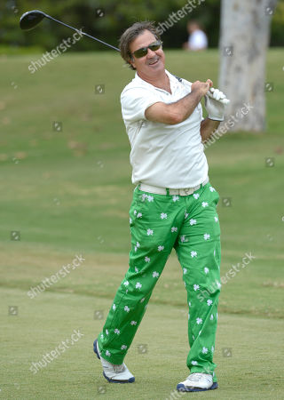Jackie Flynn participates in a tournament at the 15th Emmys Golf Classic, presented by the Television Academy Foundation, at the Wilshire Country Club in Los Angeles