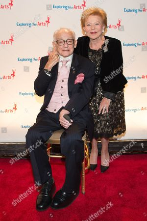Charlene Nederlander and James M. Nederlander attend the 8th Annual Exploring The Arts Gala benefit at Cipriani 42nd Street, in New York