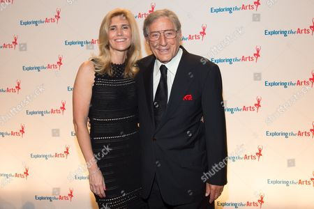 Susan Benedetto and Tony Bennett attend the 8th Annual Exploring The Arts Gala benefit at Cipriani 42nd Street, in New York