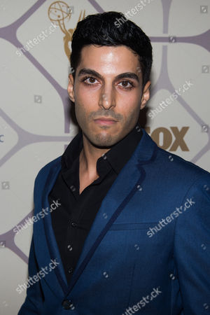 Stock Image of Keon Alexander attends the Fox/FX Emmy Awards after party on in Los Angeles
