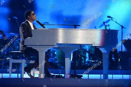 """Stock Image of Kenny """"Babyface"""" Edmonds, Tevin Campbell Kenny 'Babyface' Edmonds and Tevin Campell perform at the 2015 Soul Train Awards at the Orleans Arena on Friday, Nov. 6th, 2015, in Las Vegas"""