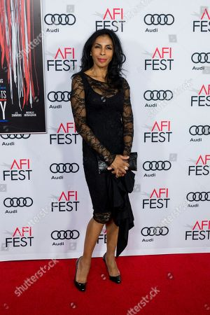 """Actress Khandi Alexander arrives at the 2016 AFI Fest """"Patriots Day"""" Special Closing Night Gala Presentation at the TCL Chinese Theatre on Thursday, Nov.17, 2016, in Los Angeles"""
