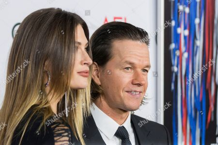 "Mark Wahlberg, right, and Rhea Durham arrive at the 2016 AFI Fest ""Patriots Day"" Special Closing Night Gala Presentation at the TCL Chinese Theatre on Thursday, Nov.17, 2016, in Los Angeles"