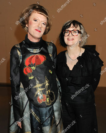Stock Image of Grayson Perry and wife Philippa Fairclough