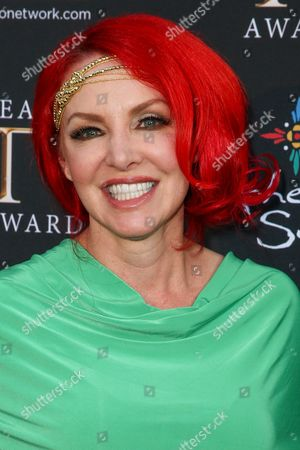 Gretchen Bonaduce arrives at the 3rd Annual Reality TV Awards at the Avalon Hollywood, in Los Angeles