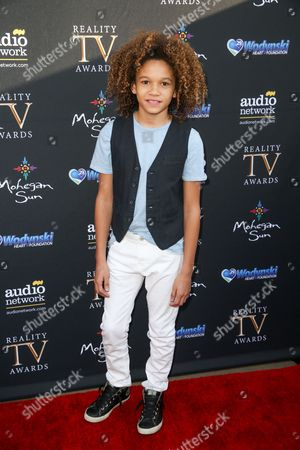 Armani Jackson arrives at the 3rd Annual Reality TV Awards at the Avalon Hollywood, in Los Angeles